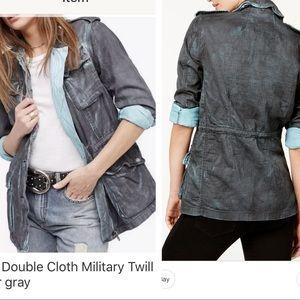 Free people military jacket size M